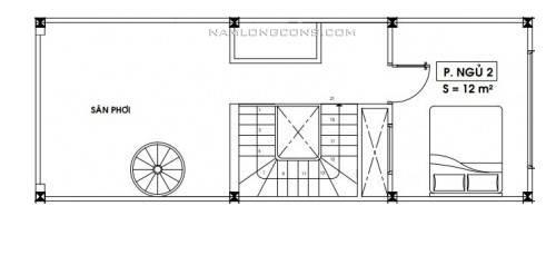 nha-nho-dep-40m2-ban-ve-nha-dien-tich-nho-4x10-40m2-2