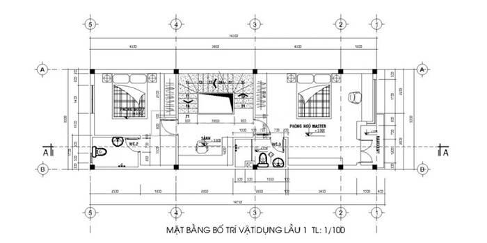 nha-nho-dep-30m2-mat-bang-tang-2-nha-pho-2-tang-5x14m